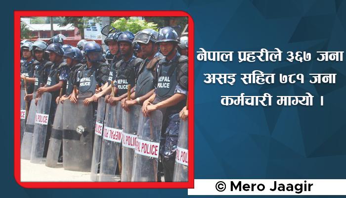 Jobs in Nepal Police - Published in 2078 Ashoj 22